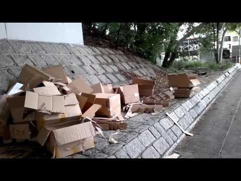 [蝗禍]新運路遍地垃圾