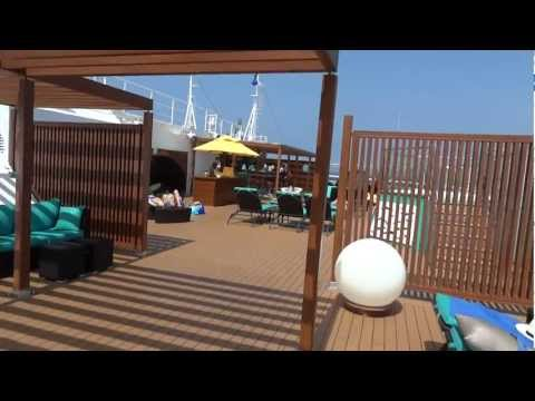 Carnival Breeze Adult Only Serenity Deck Tour