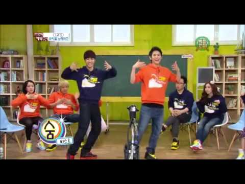 GiKwang & YoSeob of Beast dancing