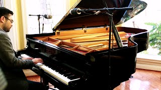 Leonard Cohen Hallelujah On Grand Piano