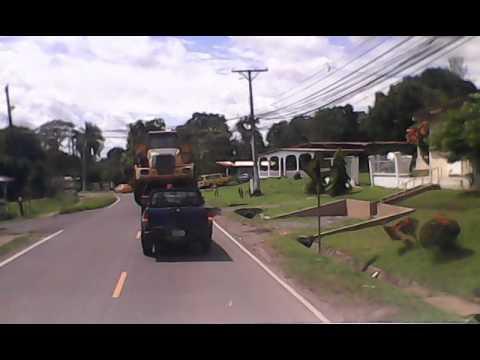 transporte demente de equipo pesado en chapala