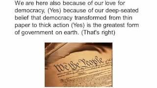 Martin Luther King speech, Holt Street Baptist Church (text + audio)