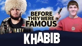 KHABIB NURMAGOMEDOV  | Before They Were Famous | UFC Lightweight Champion of the World