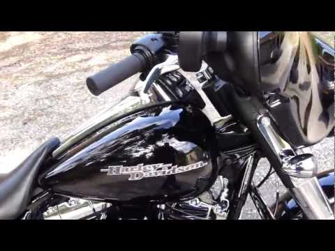 2012 Harley Davidson Custom FLHX Street Glide W/ Vance & Hines Power Duals Hi-Output slip-ons