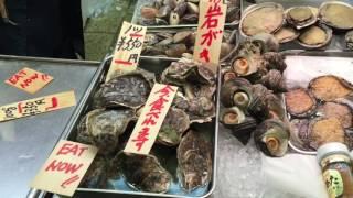 Foodie Explorers visit Nishiki Market, Kyoto,Japan