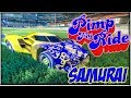 PIMP MY ROCKET LEAGUE RIDE   SAMURAI