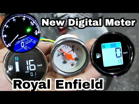 Digital speed meter | for Royal Enfield |