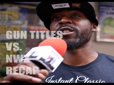 UNFINISHED BUSINESS / GUN TITLES VS. NWX / TAY ROC RECAPS THE BATTLE