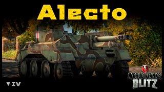 Обзор Alecto - Поехали! Марафон ПТ-САУ (17) [WoT: Blitz]
