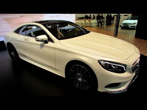 2015 Mercedes S-Class Coupe S500 - Exterior, Interior Walkaround - Debut at 2014 Geneva Motor Show