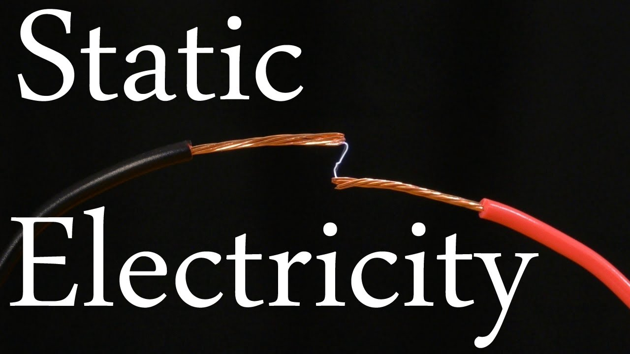 Make a static electricity generator cast lightning from your fingertips youtube - Remove static energy ...