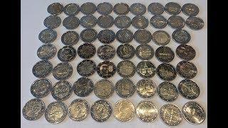 ULTRA RARE 2 euro coin collection 2017