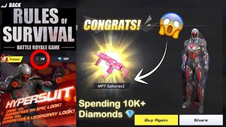 Download Song I GOT THE MP7-Sakura FOR 10 DIAMONDS?! (Rules of Survival) Free StafaMp3