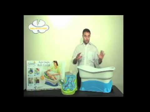 summerinfant right height bath center youtube. Black Bedroom Furniture Sets. Home Design Ideas