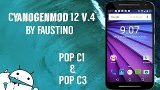 CyanogenMod 12 v4 •LP ESTABLE  Pop C1 & C3