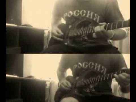 соло +табы+ видеоурок Бригада на гитаре  (Rock version)