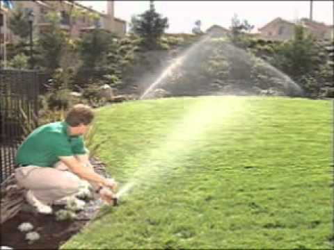 how to adjust a rainbird 5000 series sprinkler radius. Black Bedroom Furniture Sets. Home Design Ideas