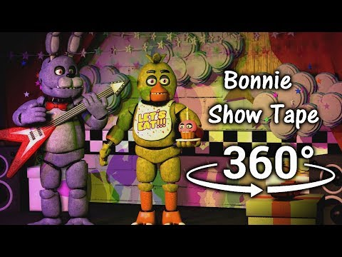 360°| Bonnie Show Tape - Five Nights at Freddy's [SFM] (VR Compatible)
