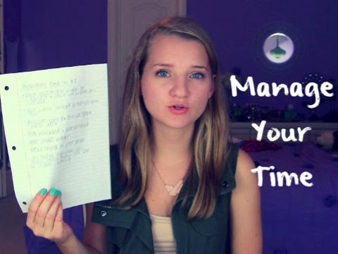 Real Talk : Managing Your Time In High School!
