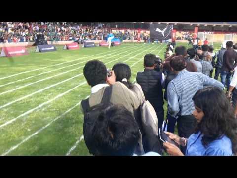 Yuvraj Singh beats Usain Bolt : RED FM RJ RAAJ