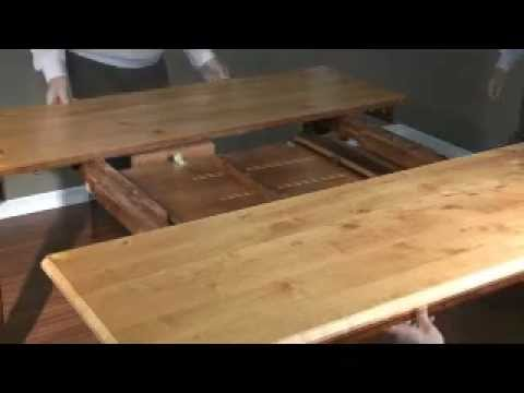 Hi Top Table With Butterfly Leaf Mechanism Youtube