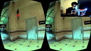 Half-Life 2 : Oculus Rift, PS Move, Navigation Controller, Sharp Shooter