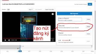 Ve360-kiếm tiền youtube-Tạo nút đăng ký kênh-button subcribe-Tăng subcribe