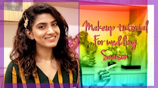 Go to Makeup Tutorial for the Wedding season | Quick Makeover | Sameera Sherief