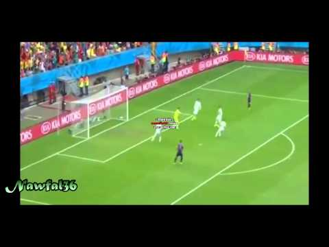 Iker Casillas great saves vs Netherlands 2014