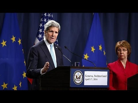 Ukraine: US, Russia and EU strike deal after crisis talks