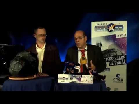 Philae : Conférence de presse du CNES du 14 novembre