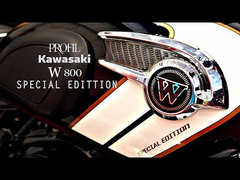 Video Kawasaki W800 Special Edition
