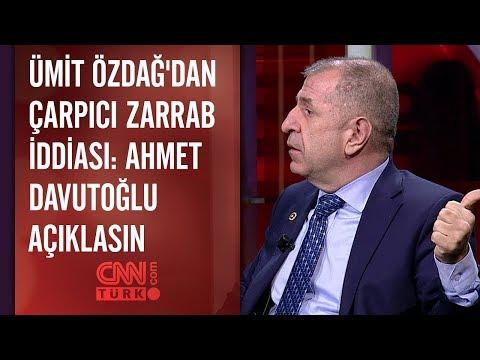Ümit Özdağ'dan çarpıcı Zarrab iddiası: Ahmet Davutoğlu açıklasın