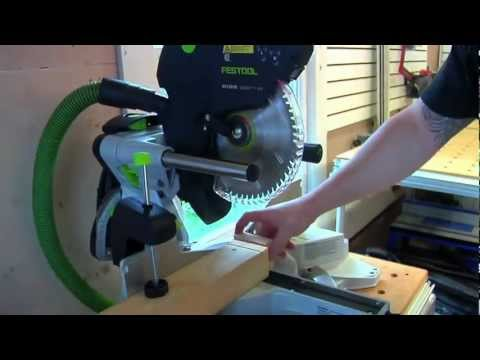 Festool Kapex Mitersaw Overview