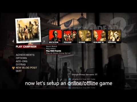 [How-To] Tutorial: Download And Install Custom Maps / Campaigns On Left 4 Dead 2