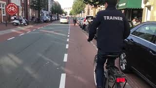 Cycling the former Demonstration Cycle Route in The Hague