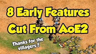 Stealing Villagers + Other Planned Features Cut From AoE2