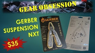 Gerber Suspension NXT - Unboxing