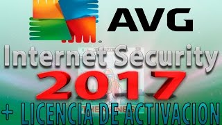 AVG Internet Security 2017 Full Español 32 y 64 Bits