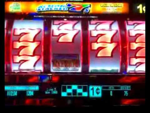 Action Stacked 7s Progressive Slot Bonus Win