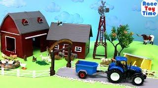 Farm Animals Fun Toys For Kids   Learn Animal Names