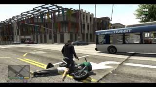 Zagrajmy w Grand Theft Auto V GTA 5 - Czarni komornicy - Gameplay PL #4 part 4