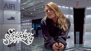 Maria Sharapova Goes Sneaker Shopping With Complex