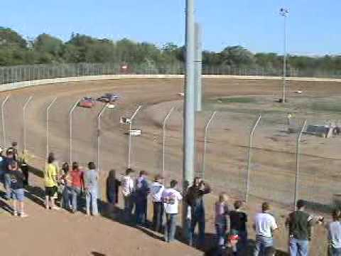 Races at Ogilvie MN 7 11 09 Video 1
