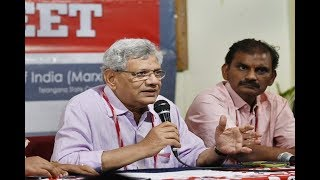 Sitaram Yechury re elected to helm CPI M, vows to oust Modi government