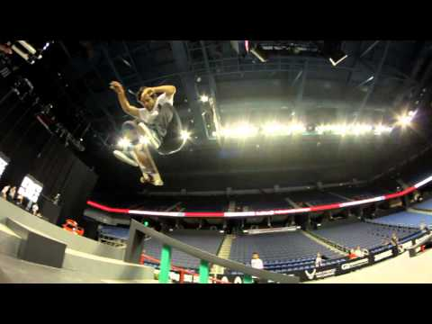 Street League 2012: Ontario Practice Quick Clip with Paul Rodriguez
