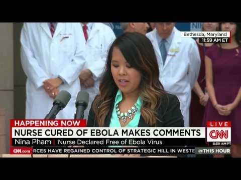 Nurse Nina Pham Cured of Ebola