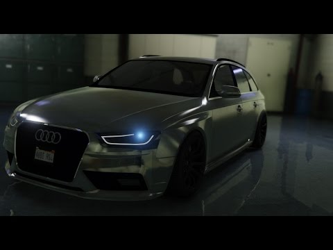 GTA 5 | Audi RS4 / A4 quattro | 2013 | MOD