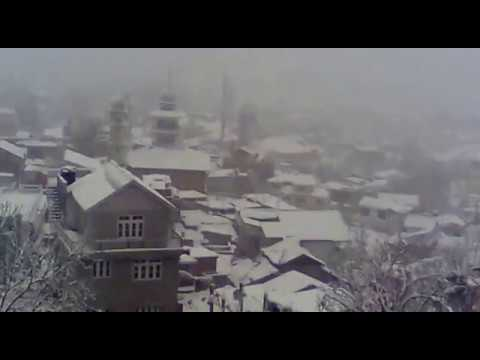 Snowfall In  DODA (JAMMU AND KASHMIR)
