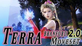 Terra Branford 2.0 (Rework) Moveset + Detail - Dissidia Final Fantasy NT (DFFAC/DFFNT)